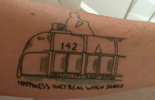 Andrew Tarons's Tattoo