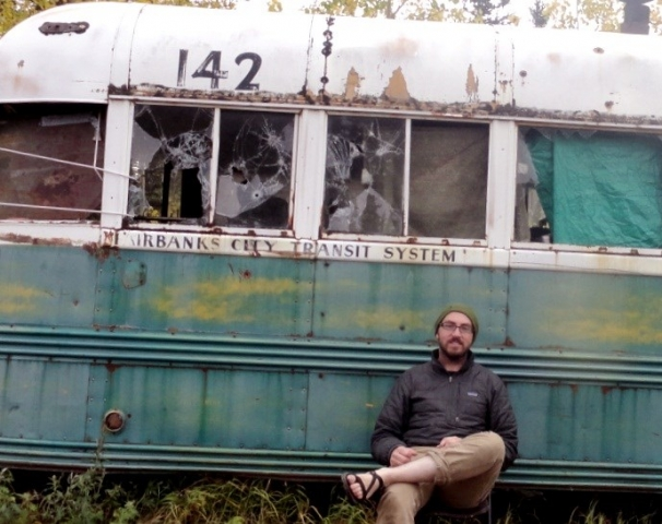 Anthony David Aronovici at Bus 142 in August of 2012