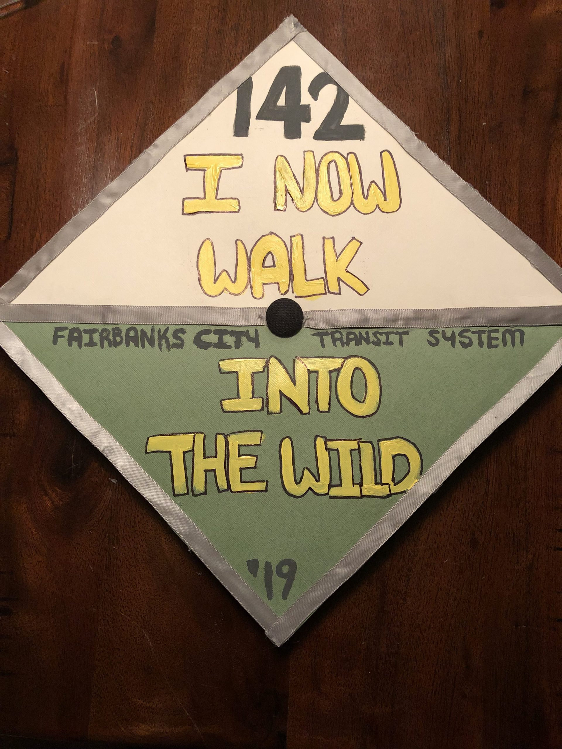 Bailey Waltman's Graduation Cap