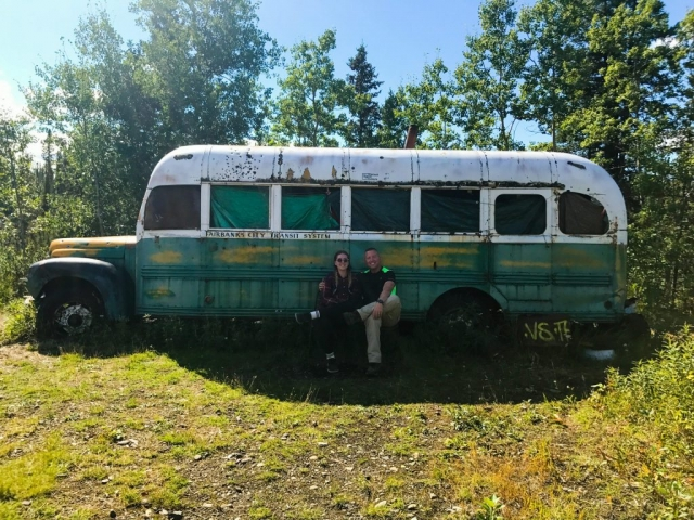 Brianna Callan & Bryan Callan at Bus 142 on August 8 2017