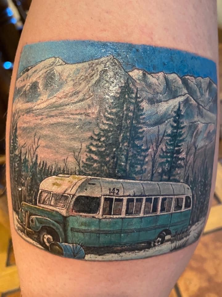Dan Unger's Tattoo
