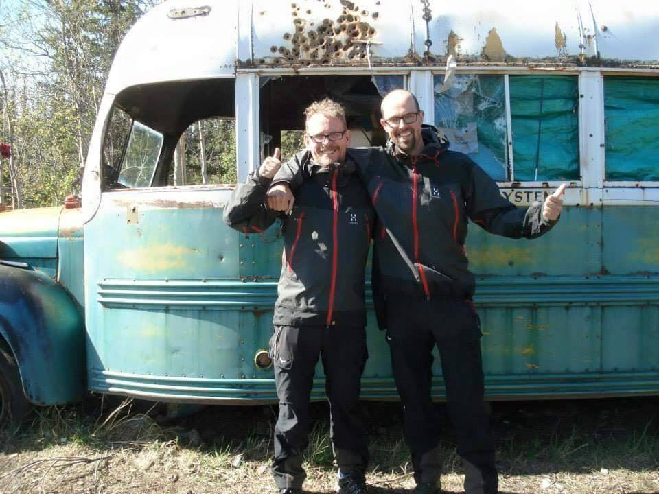 Gijs Va _de Moosdijk & Pelle Richardsson at Bus 142 in June of 2014