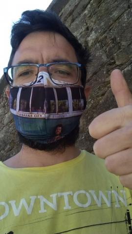 Parcerismo Weissbier's Face Mask