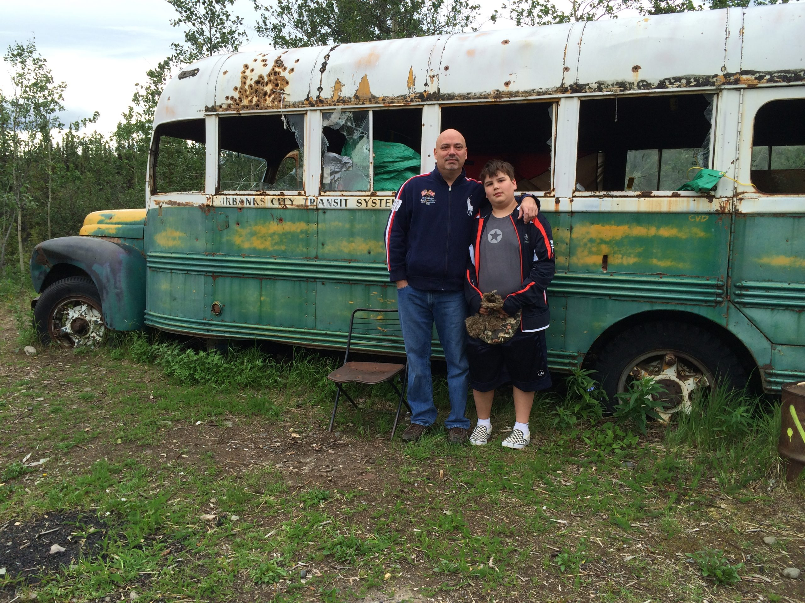 Samuel Patterson & Nathan Pattersonat Bus 142  on July 10 2014