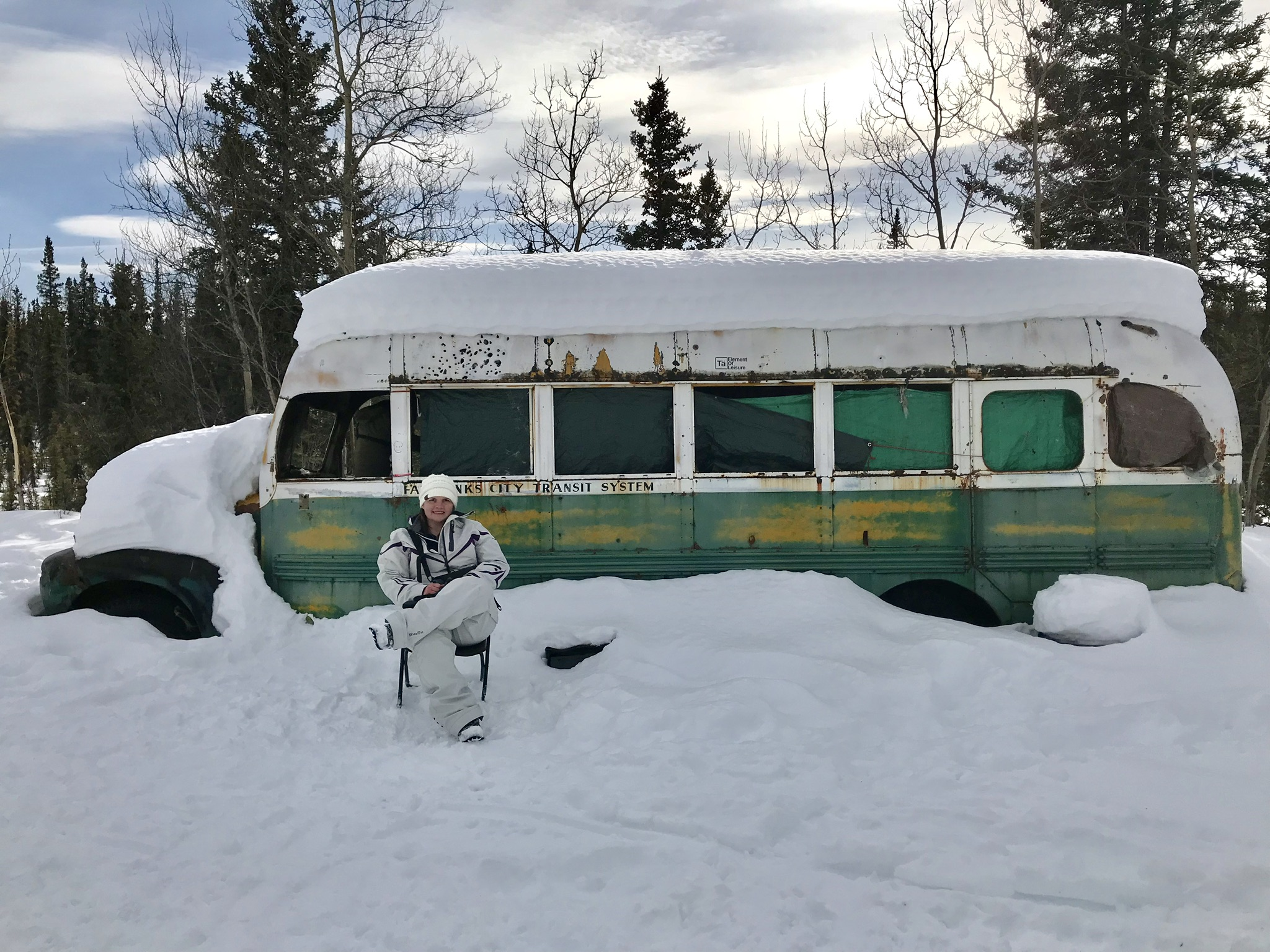 Tiffany Quam at Bus 142 in April of 2017
