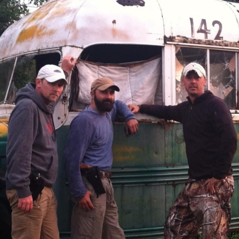 Travis Murphy, Jeff Smith, & Joe Murphy at Bus 142 on June 10 2012