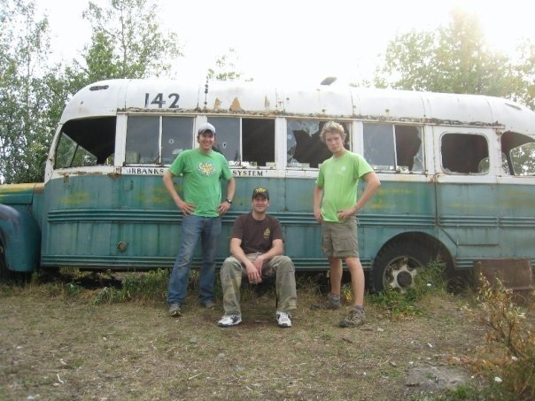 Nick Schultz, Bradley Benson & Terrence Rouda at Bus 142 on August 26 2009