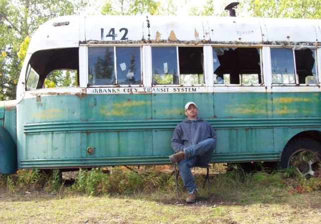 Mike Kramer at Bus 142 on August 24 2011