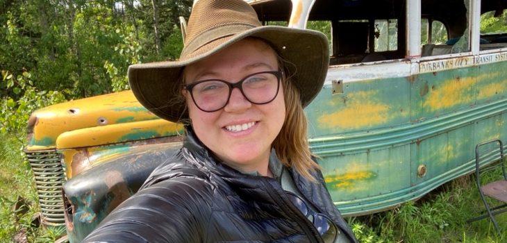 Erica Calvo at Bus 142